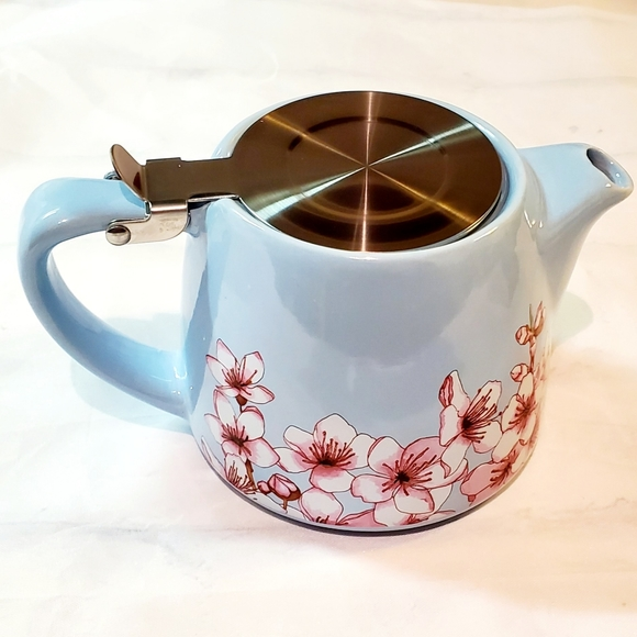 Alfred Ceramic and Stainless Steel Teapot New